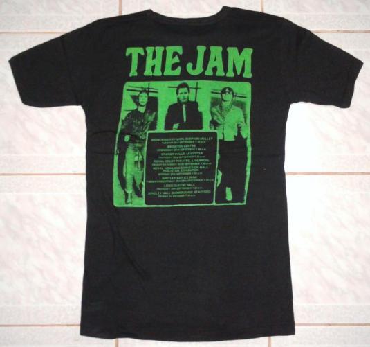 VINTAGE 1982 THE JAM – BRITISH TOUR T-SHIRT