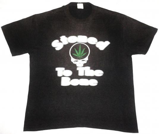 vintage Grateful Dead – Stoned to the bone t-shirt