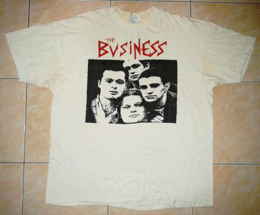 VINTAGE THE BUSINESS T-SHIRT