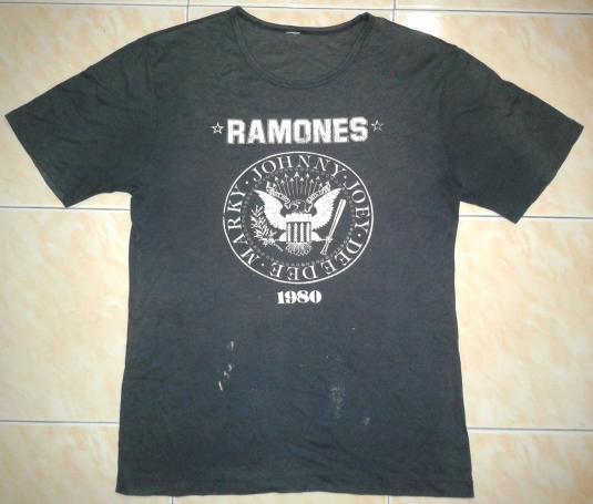 VINTAGE 1980 RAMONES T-SHIRT
