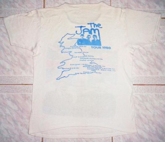 VINTAGE THE JAM – TOUR 1980 T-SHIRT