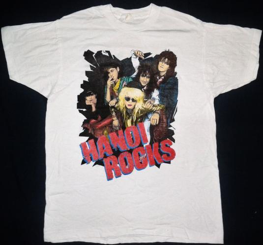 vintage 80's Hanoi Rocks t-shirt