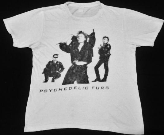 Vintage 80's The Psychedelic Furs T-shirt