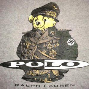 VINTAGE POLO RALPH LAUREN - NAZI BEAR T-SHIRT