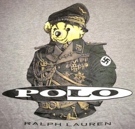 VINTAGE POLO RALPH LAUREN – NAZI BEAR T-SHIRT