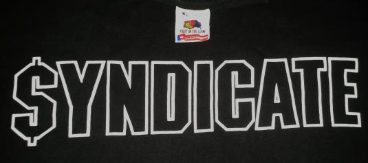 VINTAGE $YNDICATE RHYMES RECORDS – ICE-T T-SHIRT