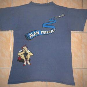VINTAGE SANTA MONICA AIRLINE - ALAN PETERSEN t-shirt
