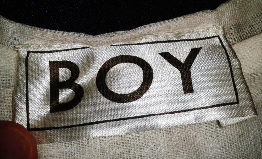 VINTAGE BOY – SEX PISTOLS MUSLIN T-SHIRT
