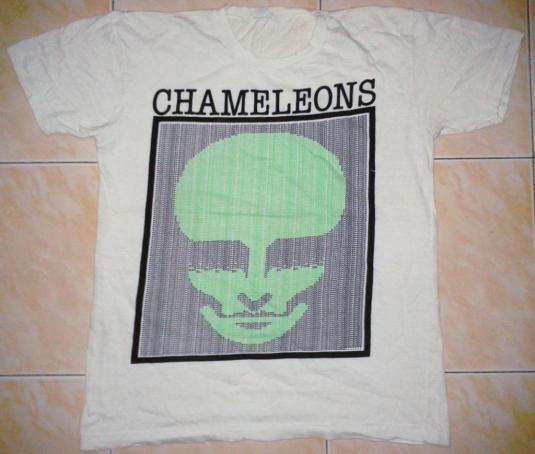VINTAGE 80's THE CHAMELEONS T-SHIRT