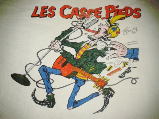 VINTAGE LES CASSE PIEDS – ROCKABILLY FROM FRANCE T-SHIRT