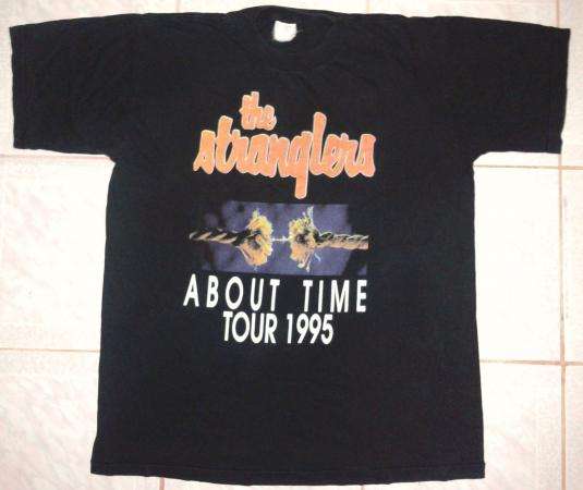 VINTAGE 1995 THE STRANGLERS – ABOUT TIME T-SHIRT
