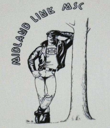VINTAGE 1980 TOM OF FINLAND T-SHIRT