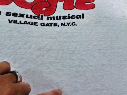 VINTAGE 70's LET MY PEOPLE COME – A SEXUAL MUSICAL T-SHIRT