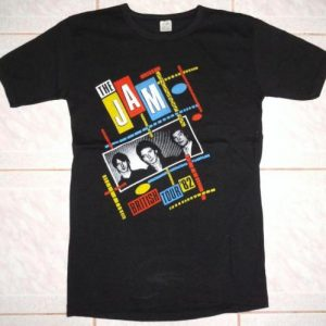 VINTAGE 1982 THE JAM - BRITISH TOUR T-SHIRT