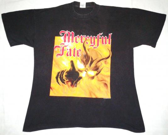 VINTAGE MERCYFUL FATE KING DIAMOND T-SHIRT