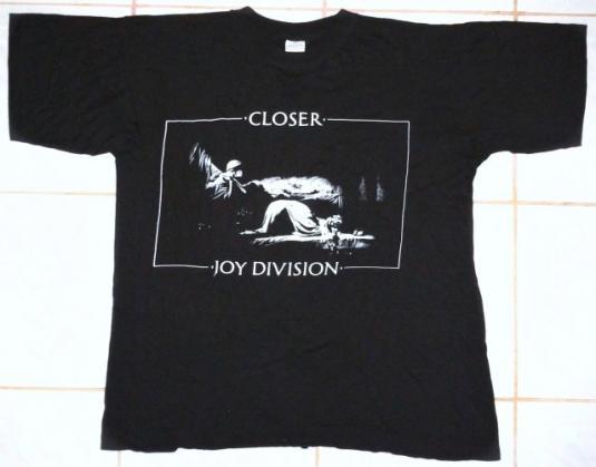 VINTAGE 80's JOY DIVISION – CLOSER T-SHIRT