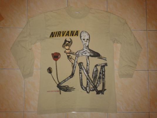 VINTAGE 1993 NIRVANA – INCESTICIDET-SHIRT