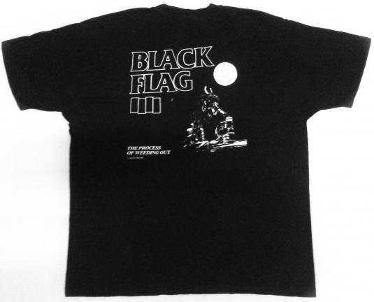 vintage Black Flag – Process of Weeding Out