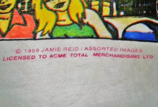 VINTAGE JAMIE REID SEX PISTOLS HOLIDAY IN THE SUN T-SHIRT
