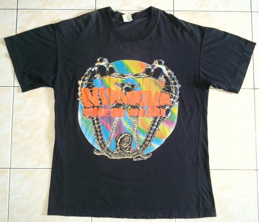 VINTAGE NIRVANA – COME AS YOU ARE T-SHIRT