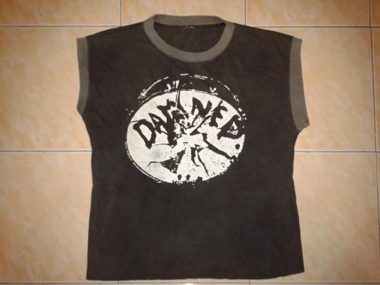 VINTAGE 80's THE DAMNED – BROKEN DRUM T-SHIRT