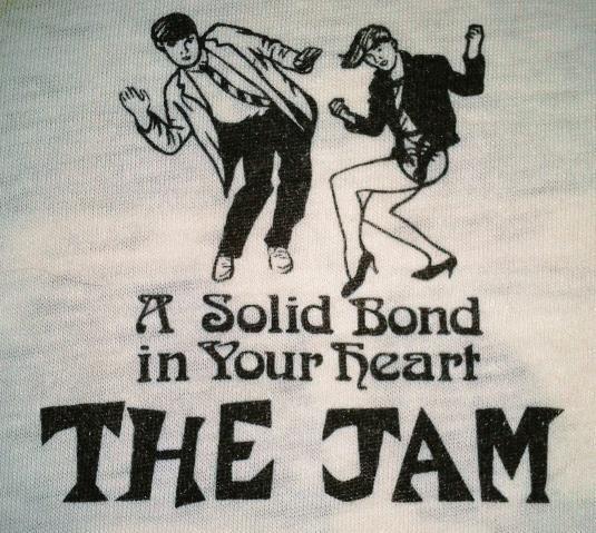VINTAGE 1982 THE JAM T-SHIRT