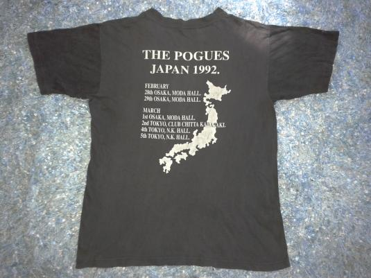 VINTAGE THE POGUES – NAKED HOWLING FREEDOM T-SHIRT