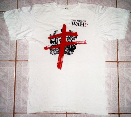 VINTAGE 80's THE MIGHTY WAH! T-SHIRT