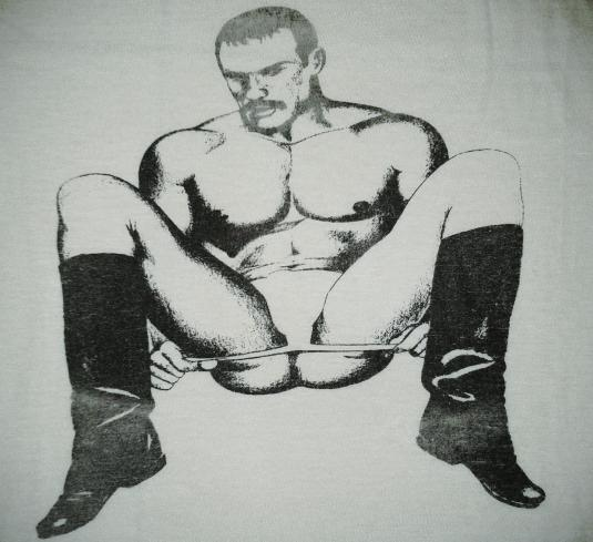 VINTAGE 80's TOM OF FINLAND T-SHIRT