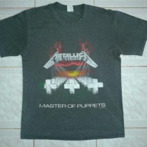 VINTAGE 1987 METALLICA - MASTER OF PUPPETS T-SHIRT