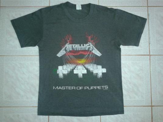 VINTAGE 1987 METALLICA – MASTER OF PUPPETS T-SHIRT