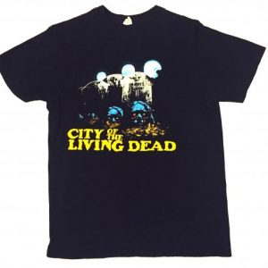 CITY OF THE LIVING DEAD horror movie promo t-shirt
