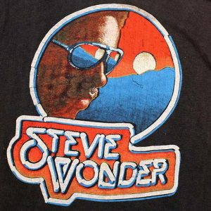 Stevie Wonder Original Vintage Music of My Mind T-Shirt 1972
