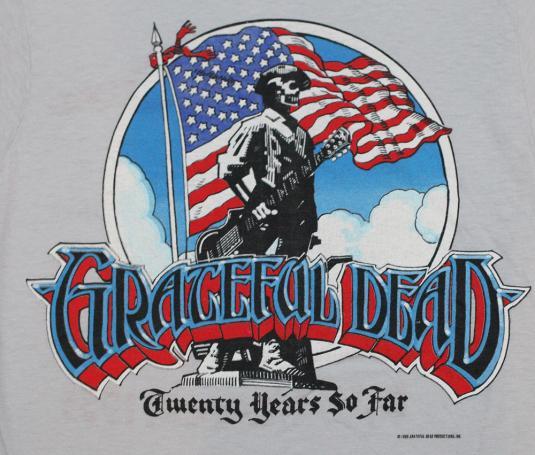 Vintage Grateful Dead Patriot Shirt Original Small 20 years