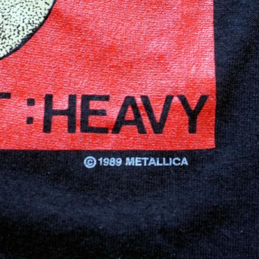 Vintage Metallica T-shirt CapN's of Krunch Crew L 1989 80s