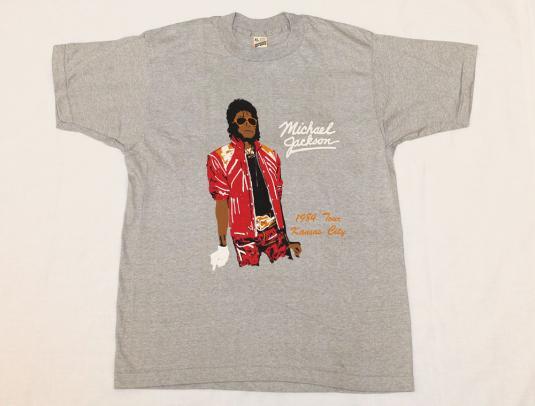 Vintage Michael Jackson Concert 1984 T-Shirt Never Worn XL