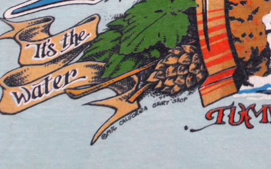 VINTAGE OLYMPIA BEER T-SHIRT 1976 RARE SEATTLE 1970S s/m