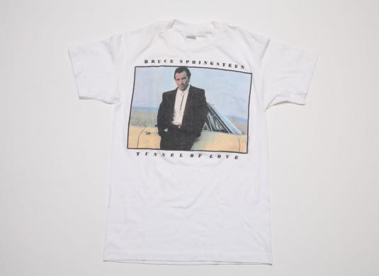 Vintage Bruce Springsteen T-shirt Tunnel of Love 80s Hipster