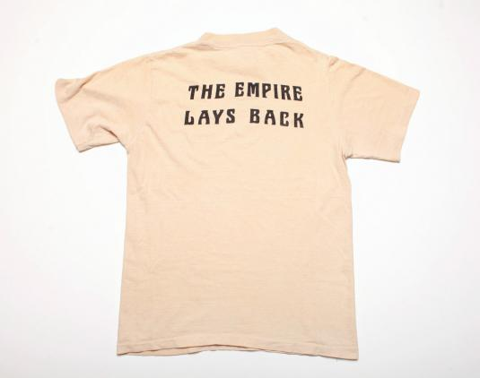 VINTAGE STAR WARS CREW T-SHIRT EMIPRE STRIKES BACK 70s SMALL