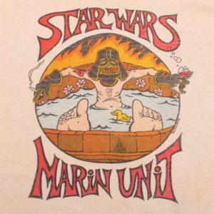 VINTAGE STAR WARS CREW T-SHIRT EMIPRE STRIKES BACK 70s SMALL