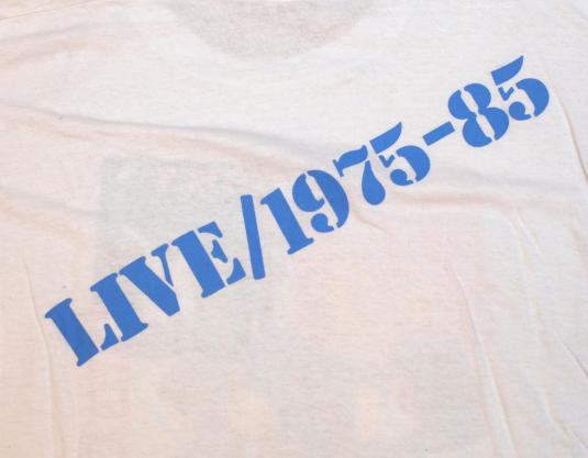 VINTAGE BRUCE SPRINGSTEEN & THE E STREET BAND T-SHIRT 80S L