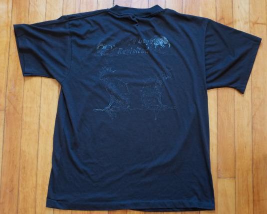 Vintage Metallica T-shirt Cliff Burton 80s Garage Days