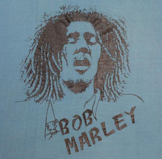 Vintage Bob Marley 1970s T-Shirt M