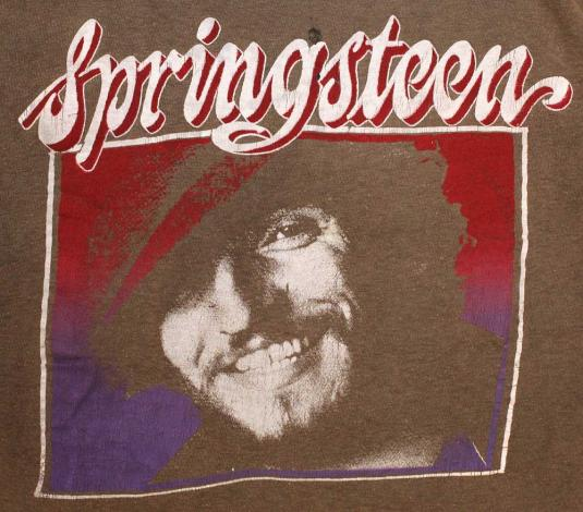 Vintage Bruce Springsteen Tour Shirt Rare Bootleg