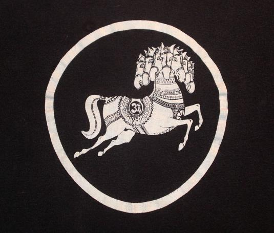 VINTAGE DARKHORSE GEORGE HARRISON 1974 TOUR CREW SHIRT S