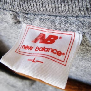 Vintage 80s New Balance Tri Blend T-shirt Heather Grey