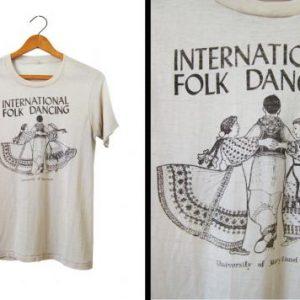70s Folk Dancing T-shirt