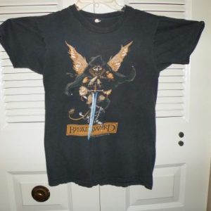 1982 83 JETHRO TULL BROADSWORD and the BEAST tour T SHIRT