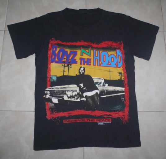 Vintage Boyz N The Hood T-Shirt Ice Cube Rap Hip Hop