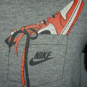 Vintage Nike Air Jordan Pocket Blue Tag Rayon T-Shirt